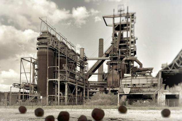 PHOENIX-RING Industriedenkmal für die Hand